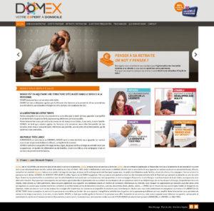 refonte site internet domex